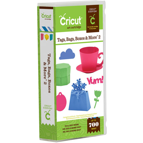 Provo Craft Cricut Shape Cartridge, Tags, Bags, Boxes And More 2