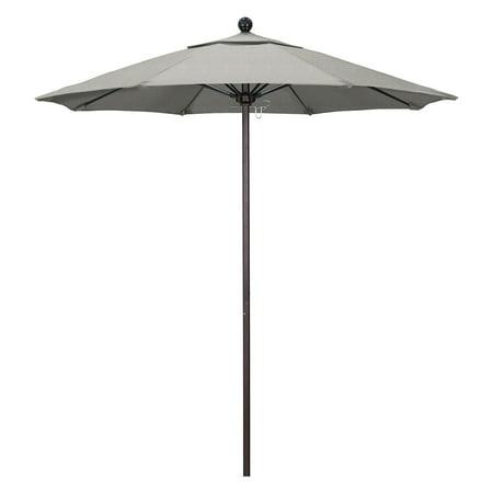 California Umbrella 7.5 ft. Fiberglass Sunbrella Market Umbrella