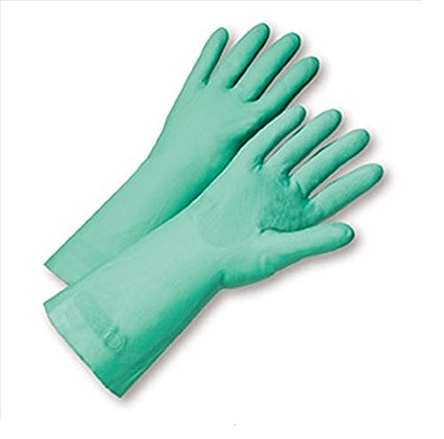 WEST CHESTER 52N100/7 12MIL UNLINED GREEN NITRILE  INDIVIDUALL