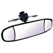Cipa Mirrors 02022 Black Multi Lens Extreme Boat Mirror