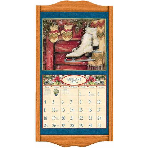 """Lang """"Honey Maple"""" Calendar Frame"""