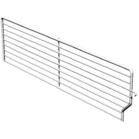 Lozier Store Fixtures BFD319 BCP 3 High x 19 Deep in. Wire Bin Divider - Pack Of 40 ()