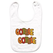 62a2d6e55b5f 7 ate 9 Apparel Unisex Gobble Gobble Thanksgiving Bib for Babies -