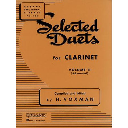 Selected Duets for Clarinet : Volume 2 - Advanced