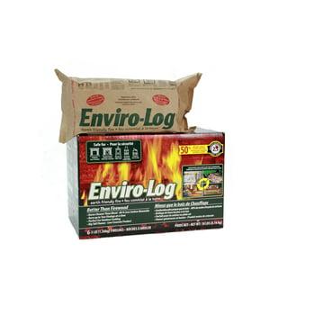 6-Pack Enviro-Log Earth-Friendly 3-lb Firelog