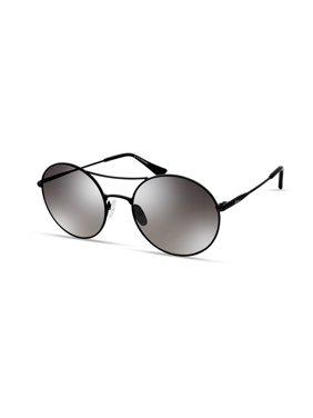 ED by Ellen Double Bar Round Sunglasses (S-33)