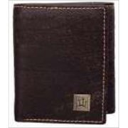 Christian Art Gifts 367037 Wallet Genuine Leather John 3 16 Crosses Brown