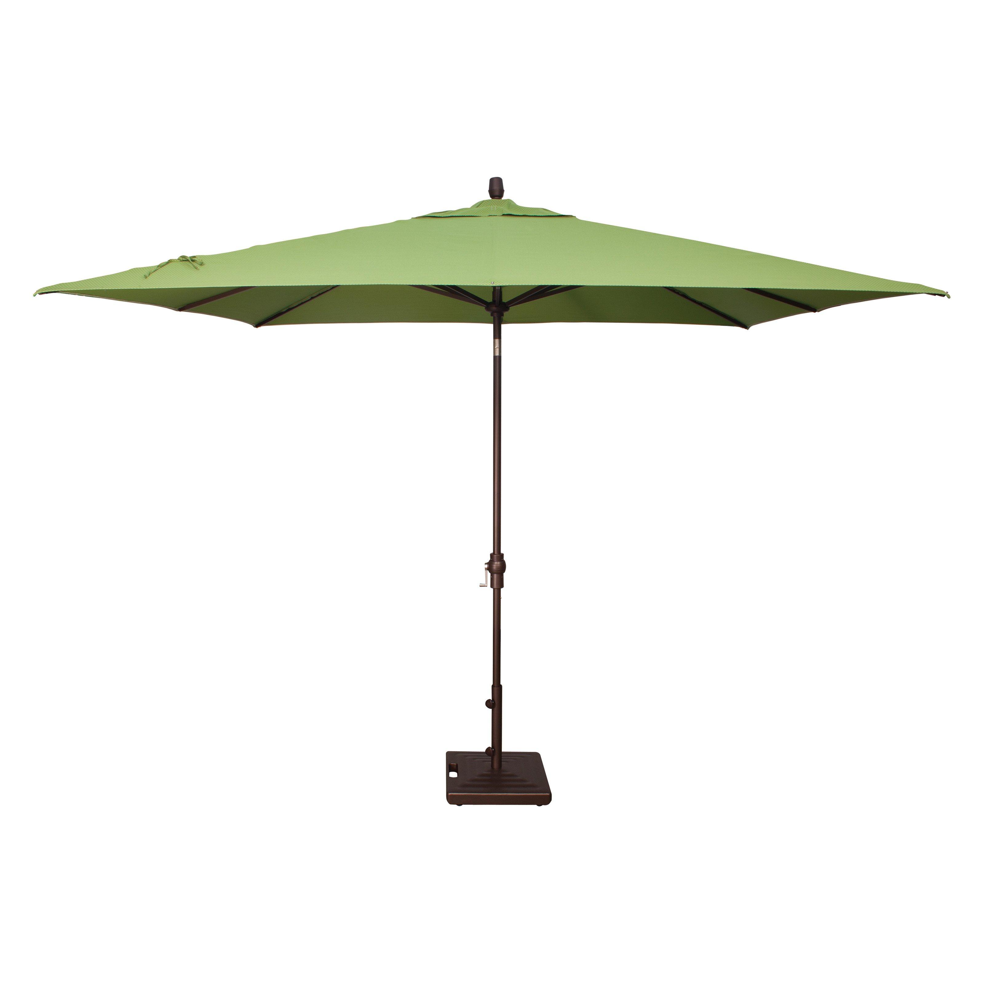 Treasure Garden 8 x 10 ft. Aluminium Auto Tilt Patio Umbrella