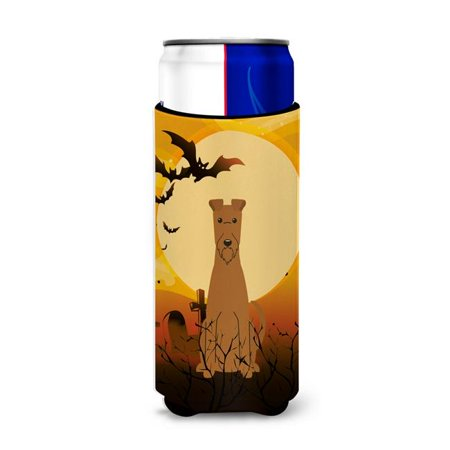 Halloween Irish Terrier Michelob Ultra Hugger for Slim Cans (Irish Resources For Halloween)
