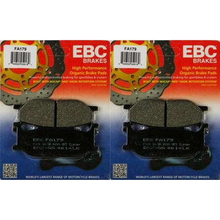EBC Brake Pad Front Kit FA179 for Yamaha Road Star Silverado 1600 1999-2003