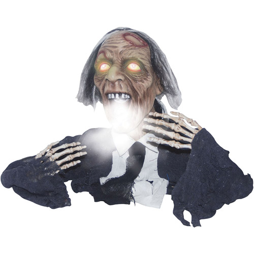 "2'3"" Groundbreaker Fogging Ghoul Halloween Decoration"