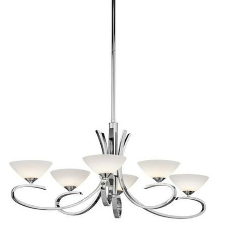 Kichler Lighting 43022ch Brooklands Contemporary Chandelier