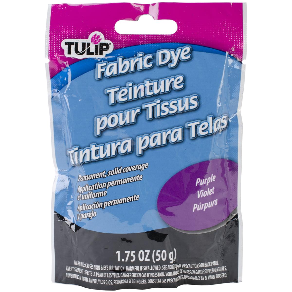 Tulip Permanent Fabric Dye 1.76oz-Hot Purple