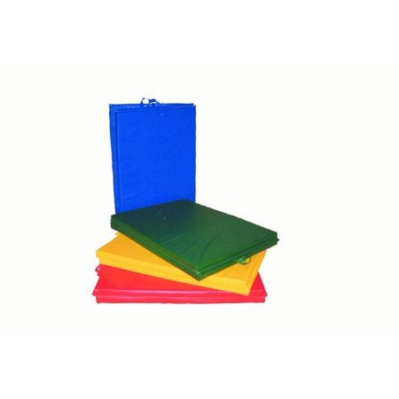 CanDo Mat with Handle Center Fold 1 3/8 PE Foam with Cover 4 x 4 Specify Color