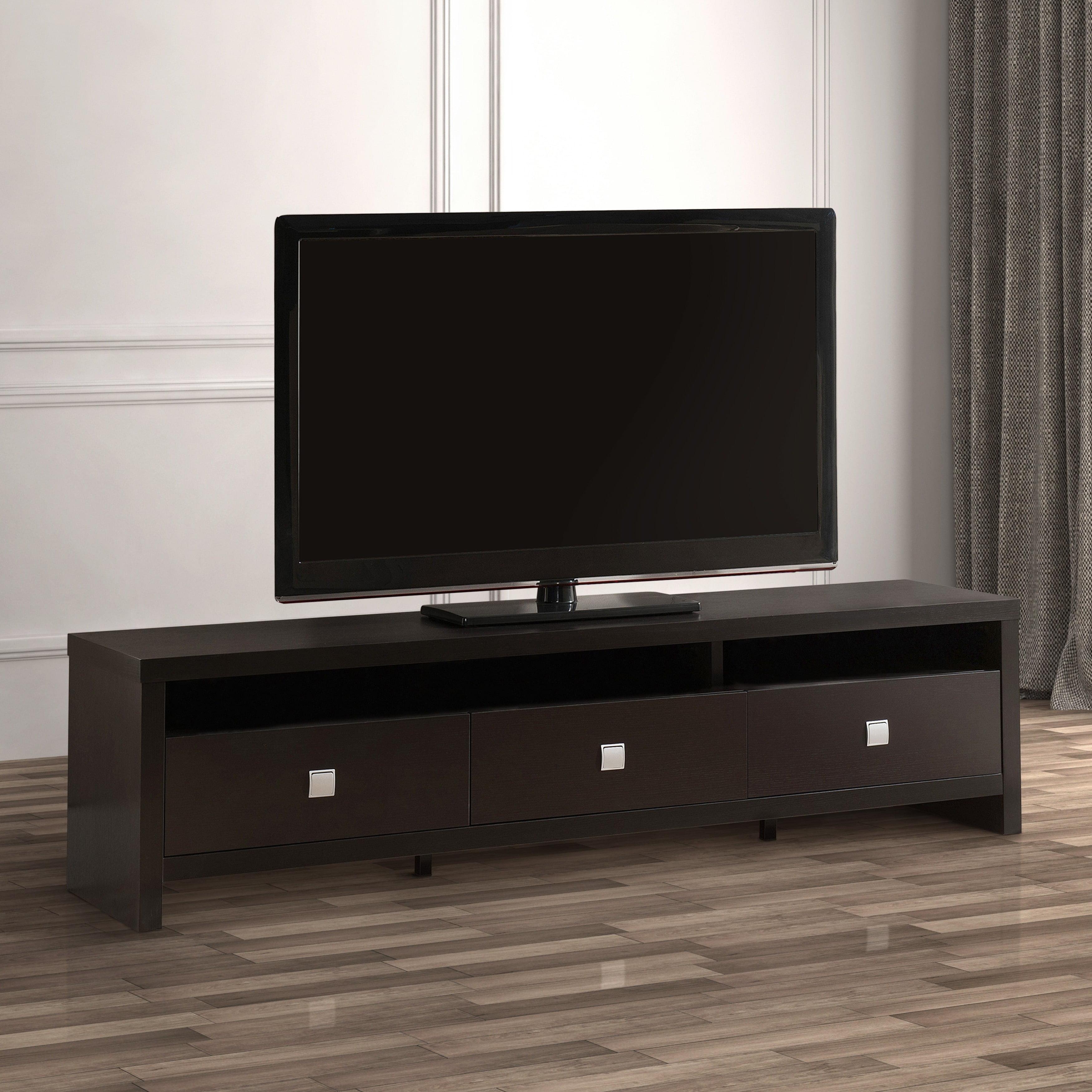 Furniture Of America Lisboa Ii Modern 72 Inch 3 Drawer Tv Stand
