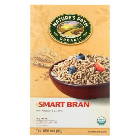 Nature's Path Organic Smart-bran Cereal - Pack of 12 - 10 6 Oz