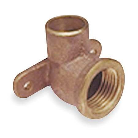 NIBCO Drop Ear Elbow, 90,Cast Copper,C x FNPT U70735 1/2