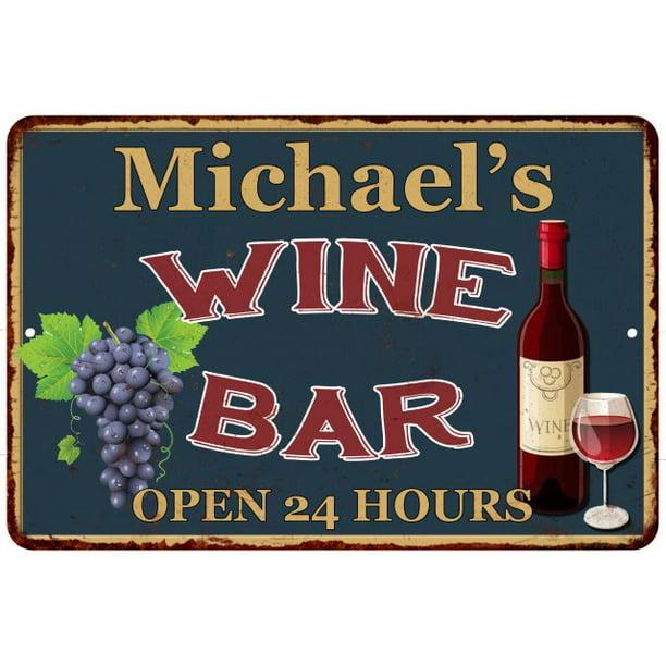 Michael S Green Wine Bar Wall Decor Kitchen Gift 8x12 Metal 208120043823 Walmart Com Walmart Com