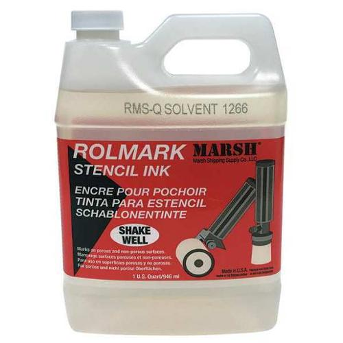 MARSH RMS-Q Rolmark Solvent Cleaner, 32 oz.