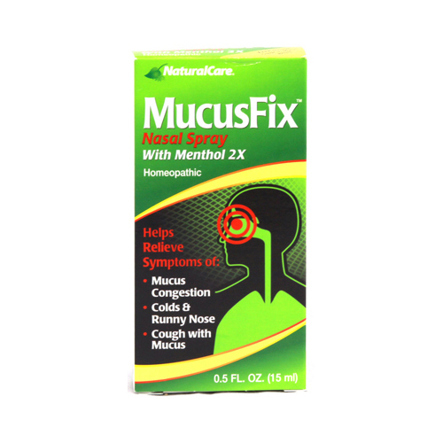 Natural Care MucusFix Nasal Spray - 0.5 fl oz