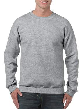 Gildan Men's and Big Men's Heavy Blend Crewneck Sweatshirt, up to Size 3XL
