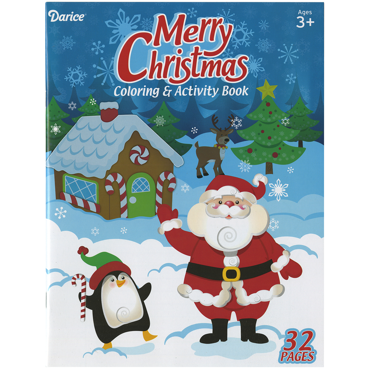 Darice Coloring Book-Merry Christmas