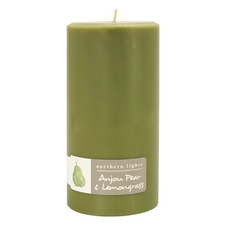 Northern Lights Fragrance Palette Pillar, Anjou Pear and (Northern Pillar Candle)