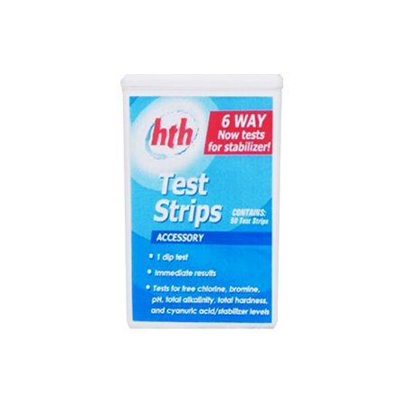 Hth spa moisturizer home garden pool pool accessories - Hth swimming pool test kit instructions ...