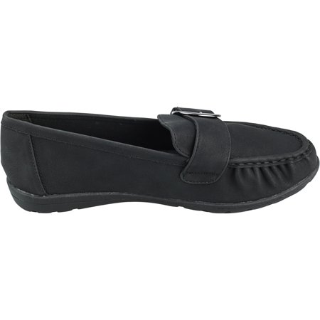 Hush Puppies Women's Soft Style Vivid Black Ankle-High Loafers & Slip-On - 6.5M - image 3 of 3