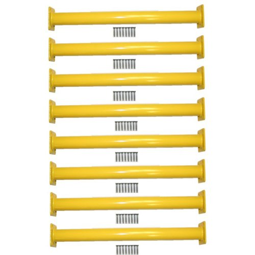 Eastern Jungle Gym Steel Monkey Bar Ladder Rungs 15.13 in. Long - Set of 8