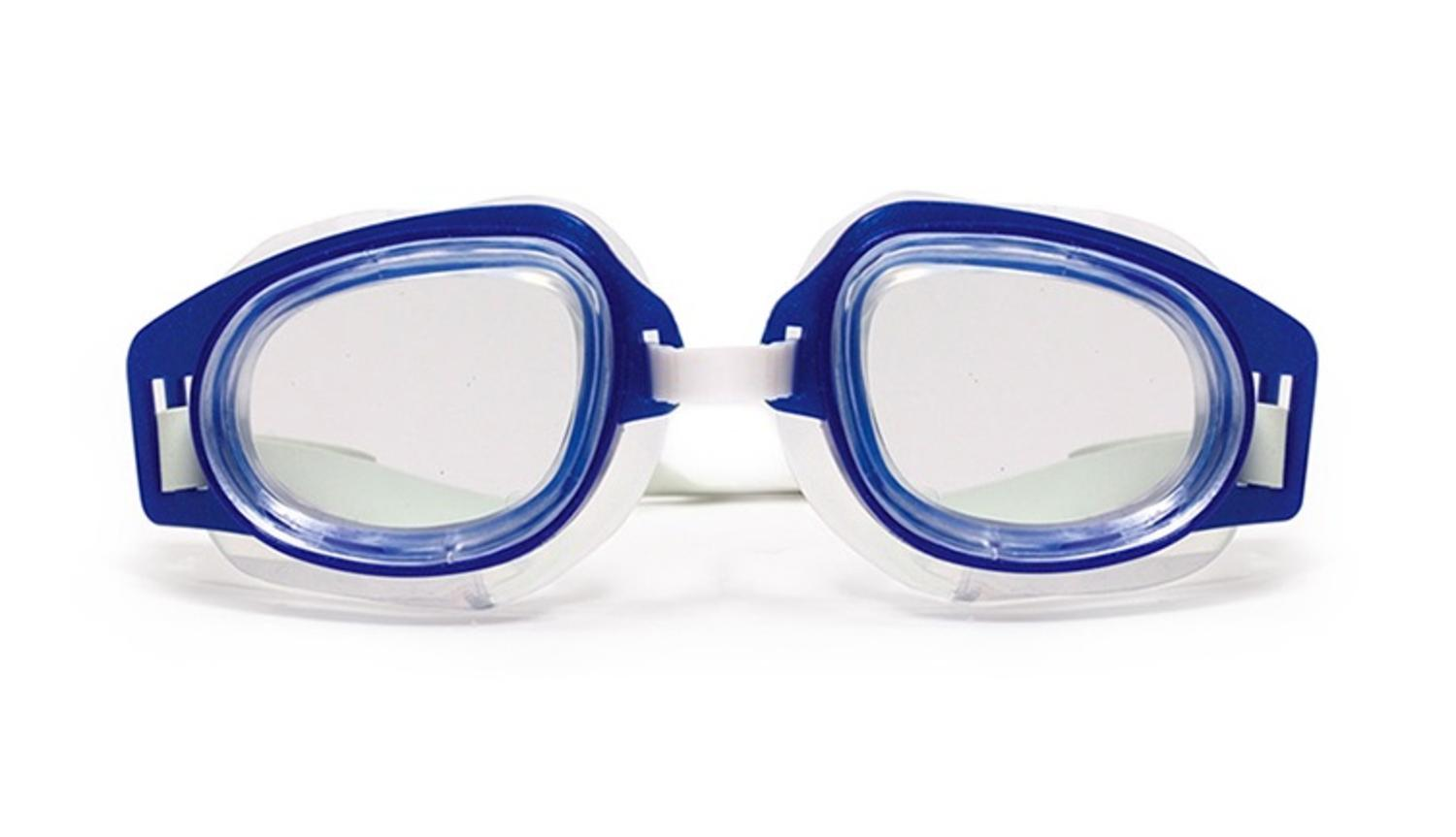 Deluxe Recreational Blue Adjustable Swimming Pool Goggles by Swim Central