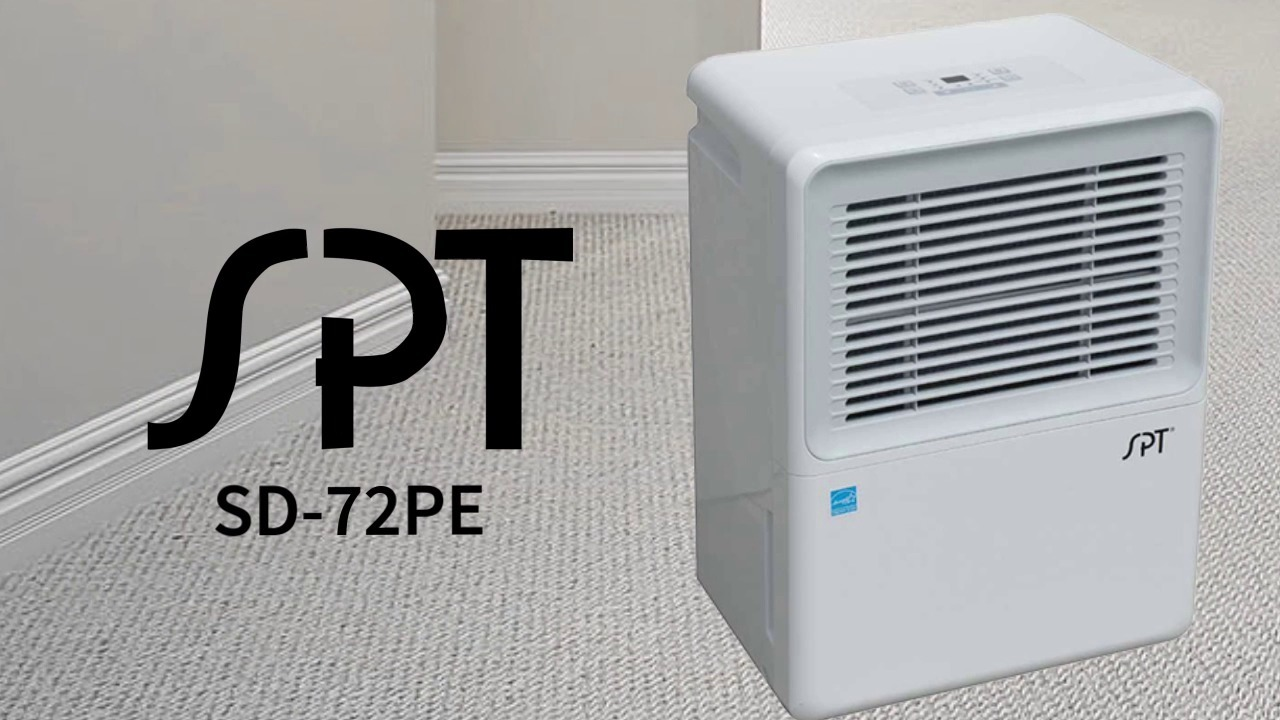 SPT SD-72PE 70-Pint Dehumidifier with Built-In Pump by Sunpentown by
