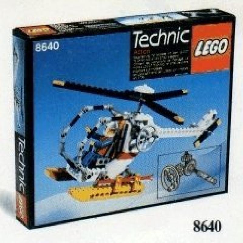 Lego Technic Arctic Polar Copter 8640 by