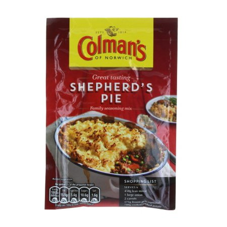 3 x Colman's Shepherd's Pie Mix, 1.75-ounce package](Halloween Pumpkin Cheesecake Pie)