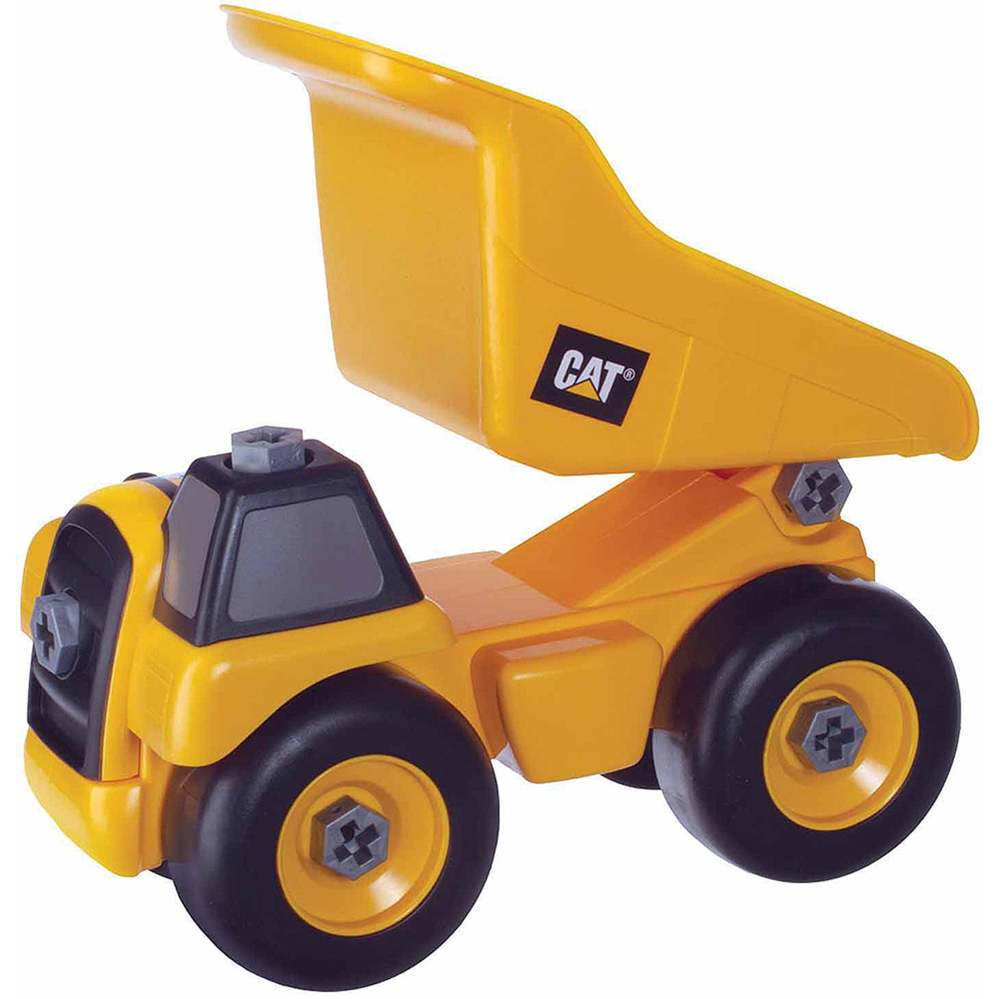 Toysmith Caterpillar Take A Part Dump Truck, Cat