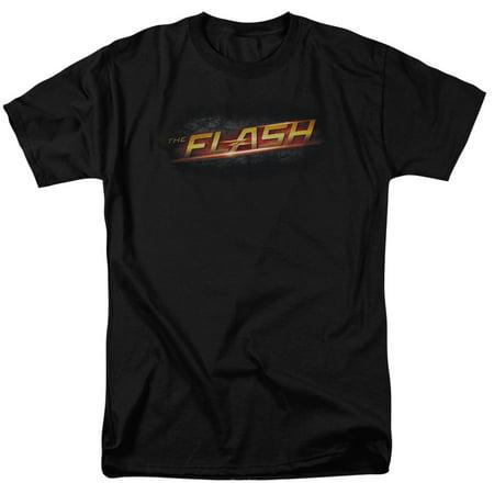 THE FLASH/LOGO-S/S ADULT 18/1-BLACK-2X