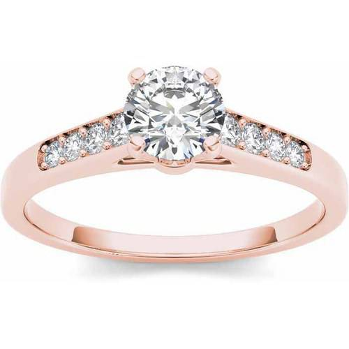 Imperial 12 Carat TW Diamond Classic 14kt Rose Gold Engagement