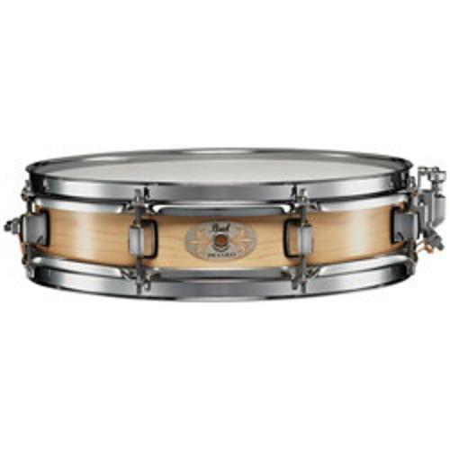 """Pearl 13"""" x 3"""" Natural Finish Maple Piccolo Snare Drum"""