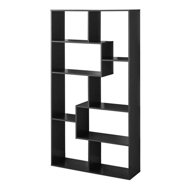 Mainstays 8 Cube Bookcase, Espresso - Walmart.com - Walmart.com