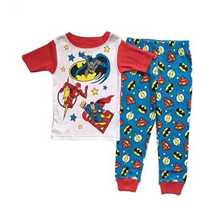 Ace Justice League (AME Justice League Little Boys Toddler 2 Pc Cotton Pajama Set)