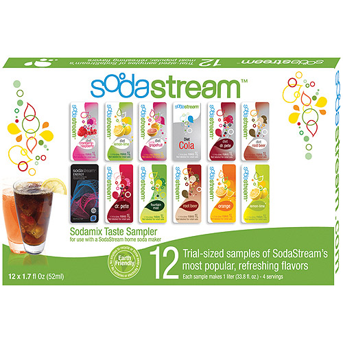 SodaStream Soda Variety Sample Pack, 12-Pack
