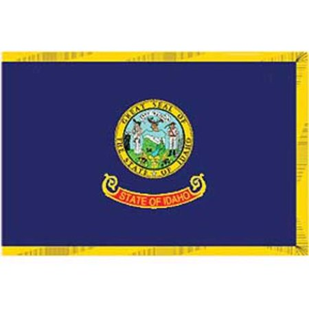 Idaho Flag On A Stick 12