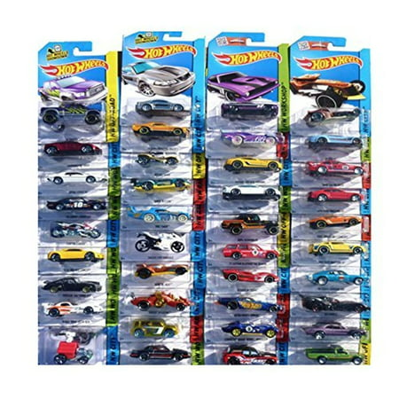 Hot Wheels 24-Car Random Assortment Party Pack 2014-2017 - Hot Wheel Birthday Party