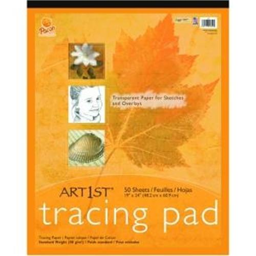 "Pacon Art1st Tracing Pad, 19"" x 24"", 50 Sheets 2324"