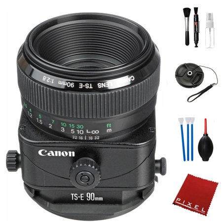 Canon TS-E 90mm f/2.8 Tilt-Shift Lens with Pro Cleaning Kit ()