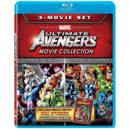 Ultimate Avengers 3 Movie Collection  Ultimate Avengers   Ultimate Avengers Ii   Next Avengers  Heroes Of Tomorrow  Blu Ray   Widescreen
