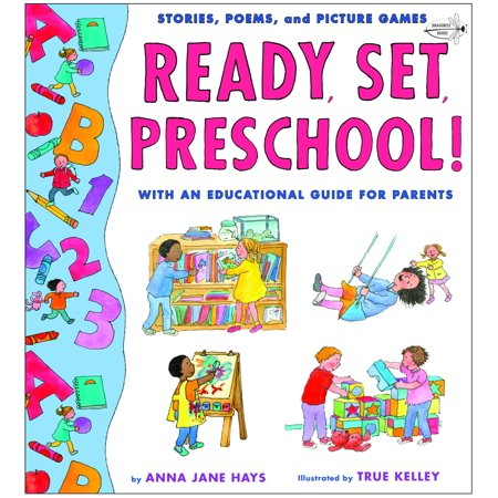 Ready, Set, Preschool! : Stories, Poems and Picture Games with an Educational Guide for Parents - Preschool Class Halloween Games