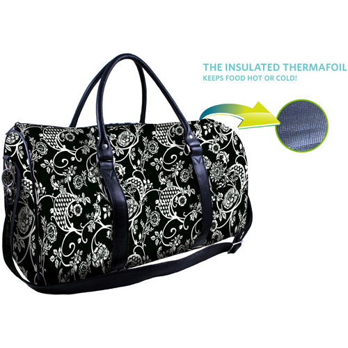 Fit & Fresh Insulated Designer Tote