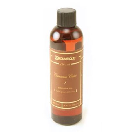 CINNAMON CIDER Aromatique Reed and Ceramic Diffuser Oil Refills - 4oz
