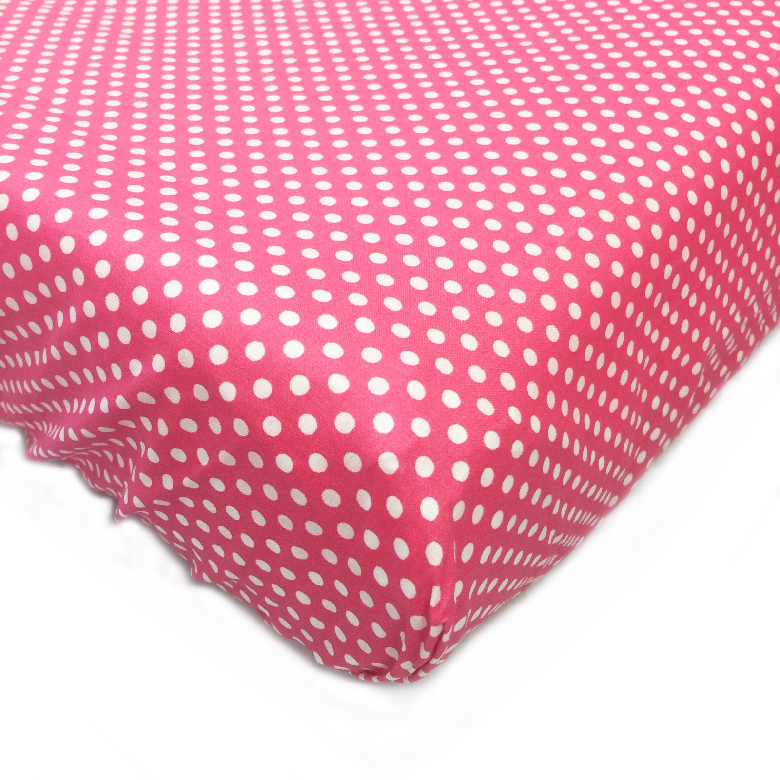 One Grace Place Simplicity Hot Pink Changing Pad Cover